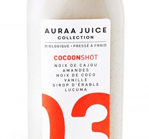 <span>AURAA JUICE COLLECTION</span><i>→</i>